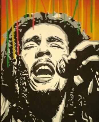Bob Marley by theGlad